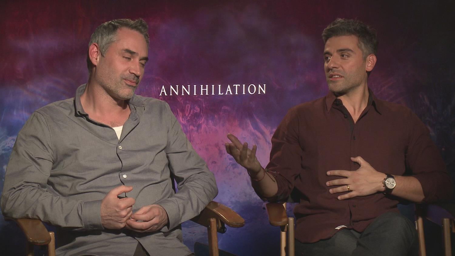 Annihilation's Oscar Isaac on Balancing Star Wars and More