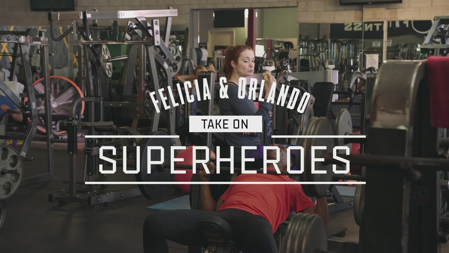 Felicia & Orlando Take On ... Superheroes