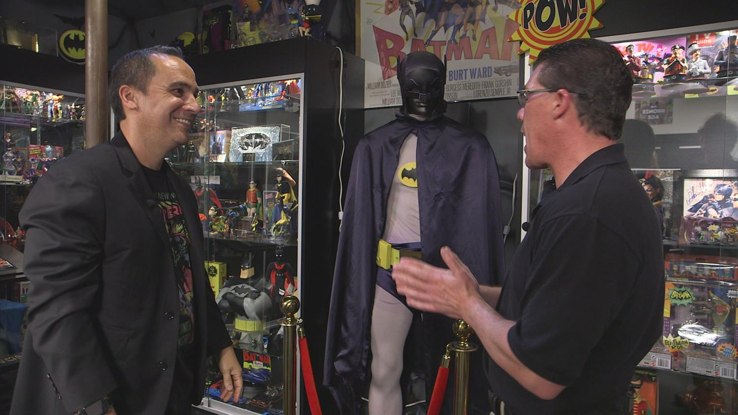 See the Massive Batman Collection at the Superhero Museum