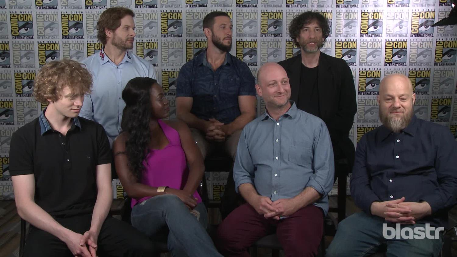American Gods' Neil Gaiman and Cast: Why It Could Only Be Made Now