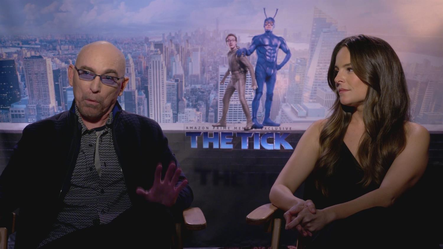The Tick's Jackie Earle Haley and Yara Martinez on Playing Villains