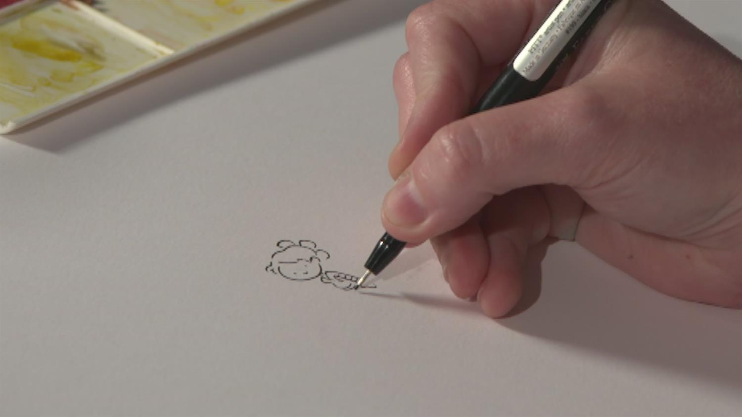 Watch Comic Book Artist Katie Cook Sketch Star Wars' BB8 and Rey