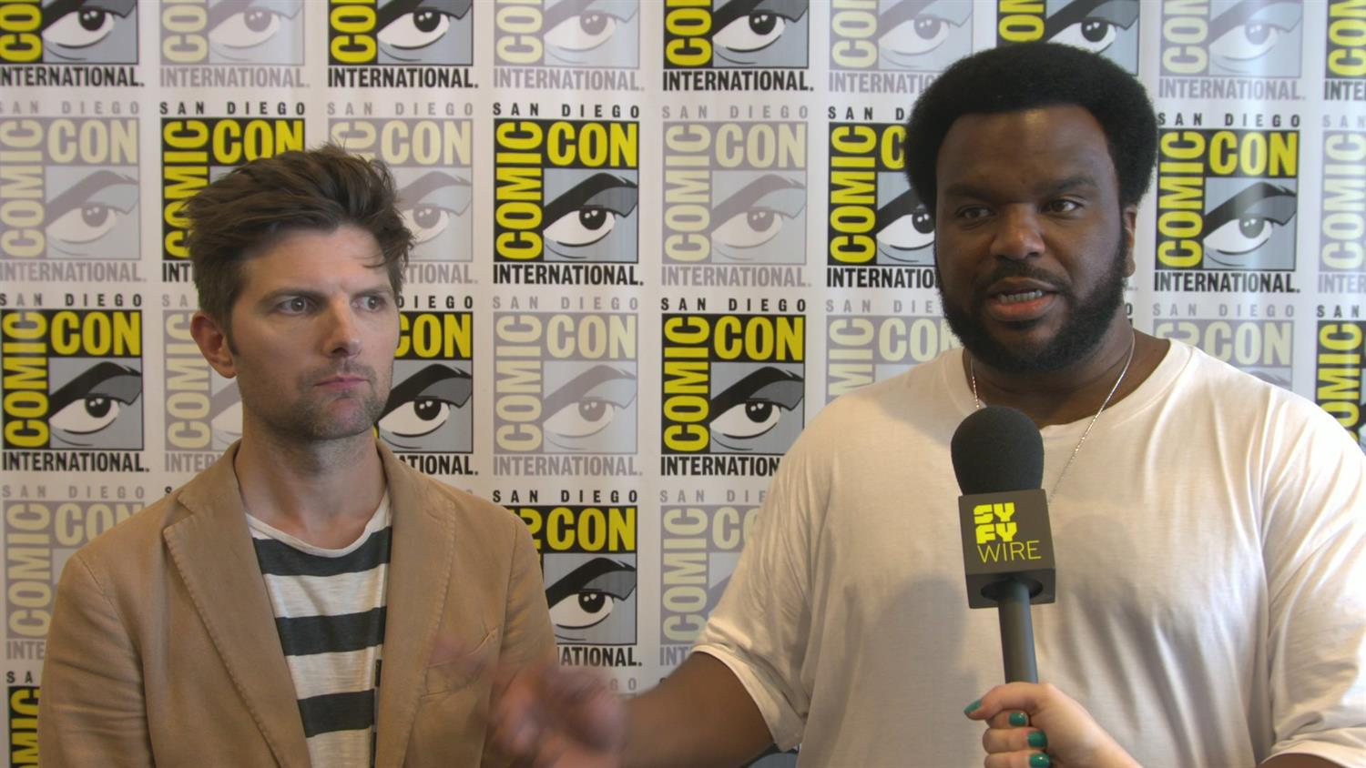 Adam Scott and Craig Robison on Why They Wanted To Do Ghosted