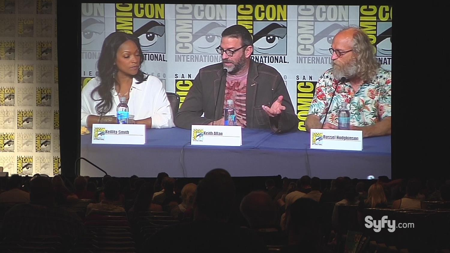 San Diego Comic - Con Z Nation Panel Highlight: Does Everyone Hate Murphy?