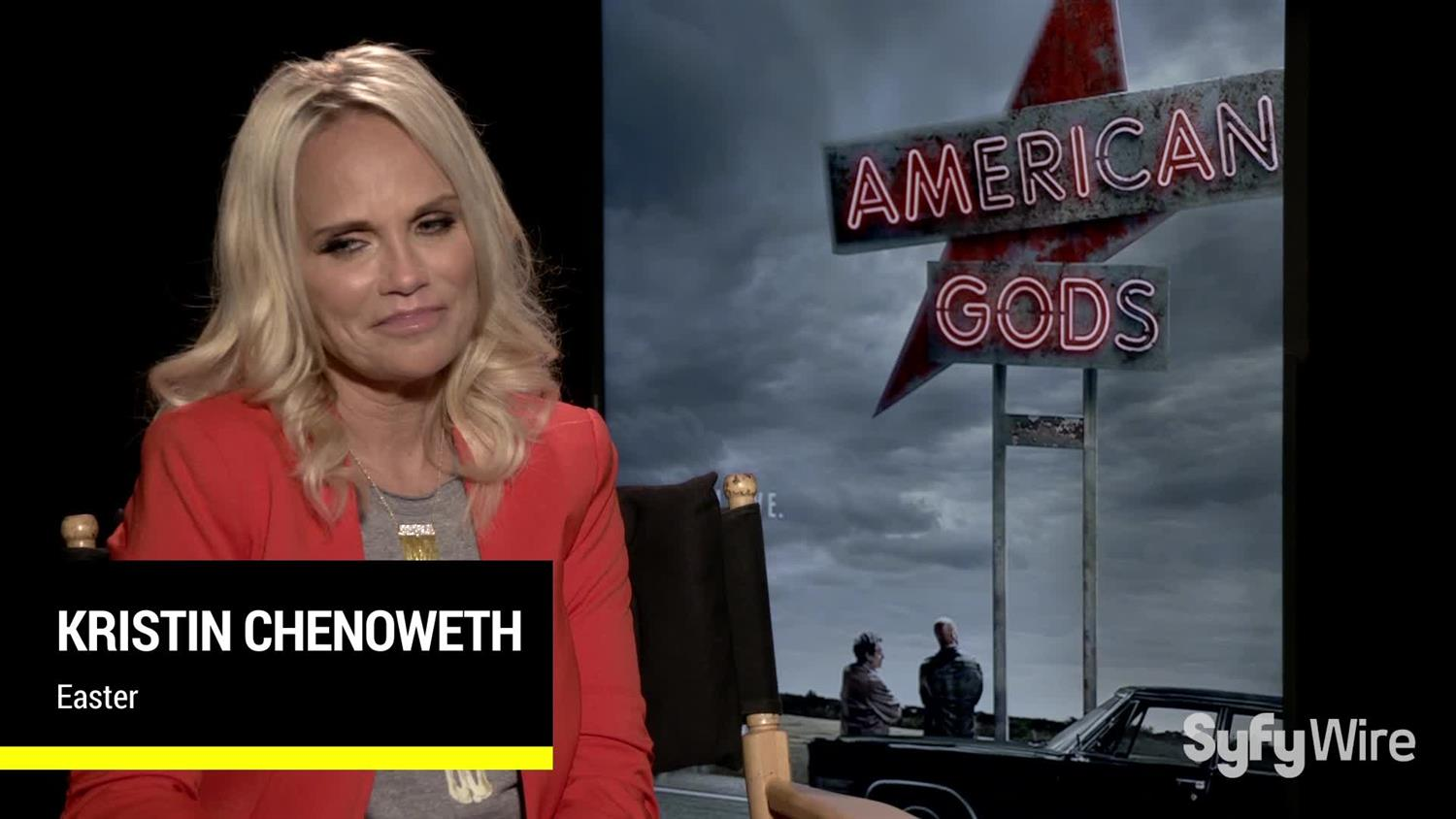 American Gods' Kristin Chenoweth on Reuniting with Bryan Fuller